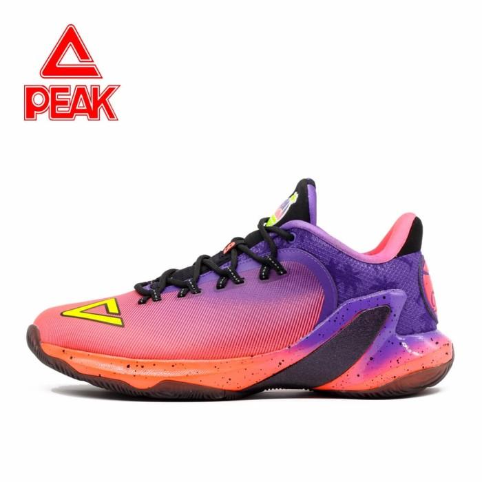 harga Sepatu basket peak tony parker v original 100% - e73323a big size - ungu 49 Tokopedia.com
