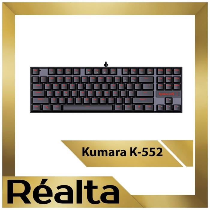 Jual Keyboard Gaming Mechanical Redragon Kumara K552 Tkl Rgb