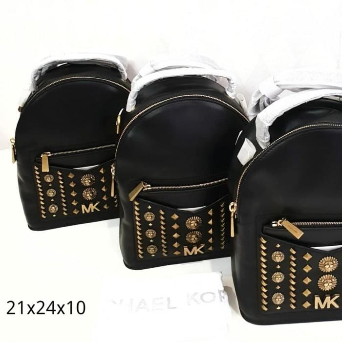 254df57843ce Tas Michael Kors MK Jessa convertible bp embellished black 21x24x10