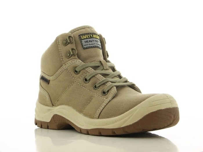 Foto Produk SAFETY SHOES jogger desert SEPATU KHAKI / CREAM SAFETYJOGGER DESSERT - 37 dari persada global safety