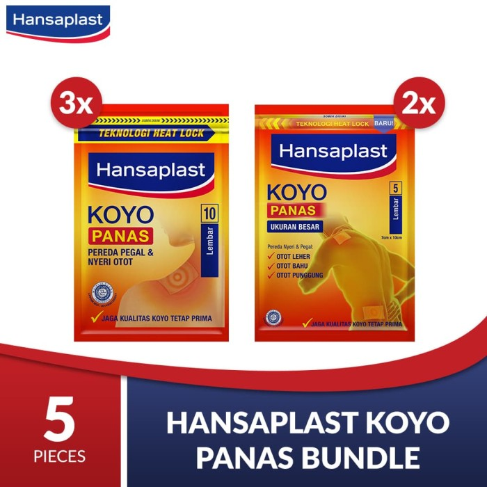 Hansaplast Koyo Panas Bundle - Flash Sale