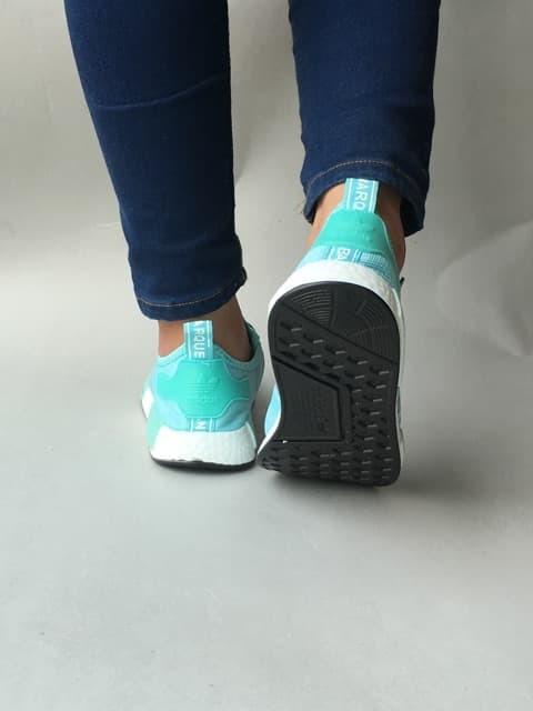 f9c51b7538135 Jual Sepatu Adidas Nmd R1 Blue Peach Women Import Quality - nick ...