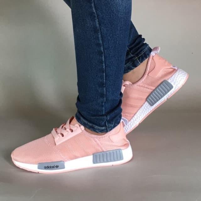 014b08b4fa17f Jual Sepatu Perempuan Adidas Nmd R1 Peach Import - nick strore ...