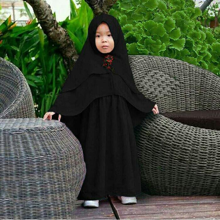 Gamis / Baju / Pakaian Muslim Anak / Kids Keisha Syari