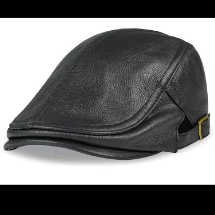 Topi Kulit Asli - Harga Baru Produk Terhangat Di Indonesia 304957d06d