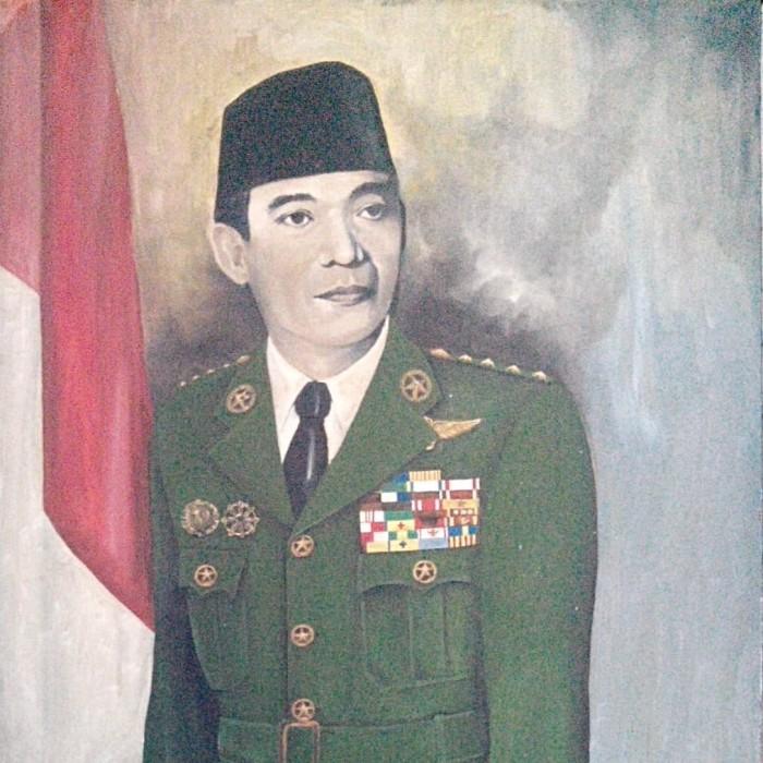 Jual Lukisan Presiden Ir Soekarno Kab Sukoharjo Rjet Tokopedia