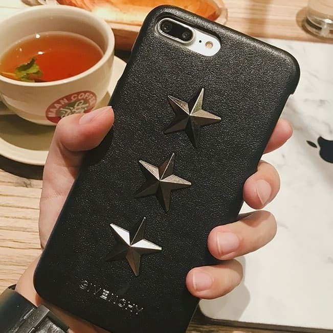promo code d2e06 2e7aa Jual HARDCASE GIVENCHY STAR BLACK FOR IPHONE X 10 / LEATHER CASE PREMIUM -  Jakarta Selatan - Cutye Accessories | Tokopedia