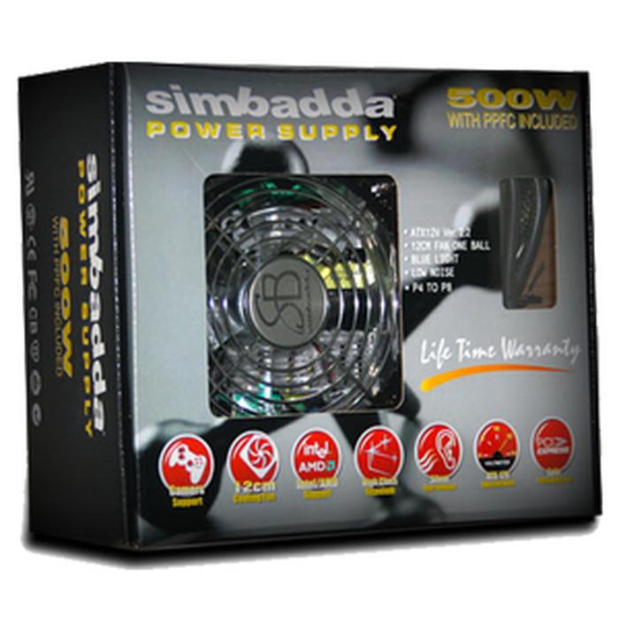 Info Power Supply Simbadda 500 Watt Travelbon.com