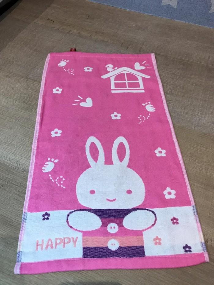 Happy Handuk Tangan Anak Promo - Rabbit Pink