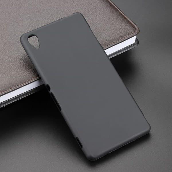 Case Sony Xperia Z3 - Softcase Doff BLACK MATTE Sony Z3