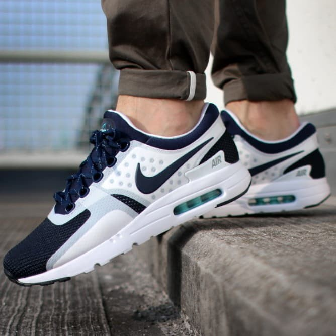 reputable site 3d641 cce6a Nike AirMax 90 Zero White Navy Premium Quality