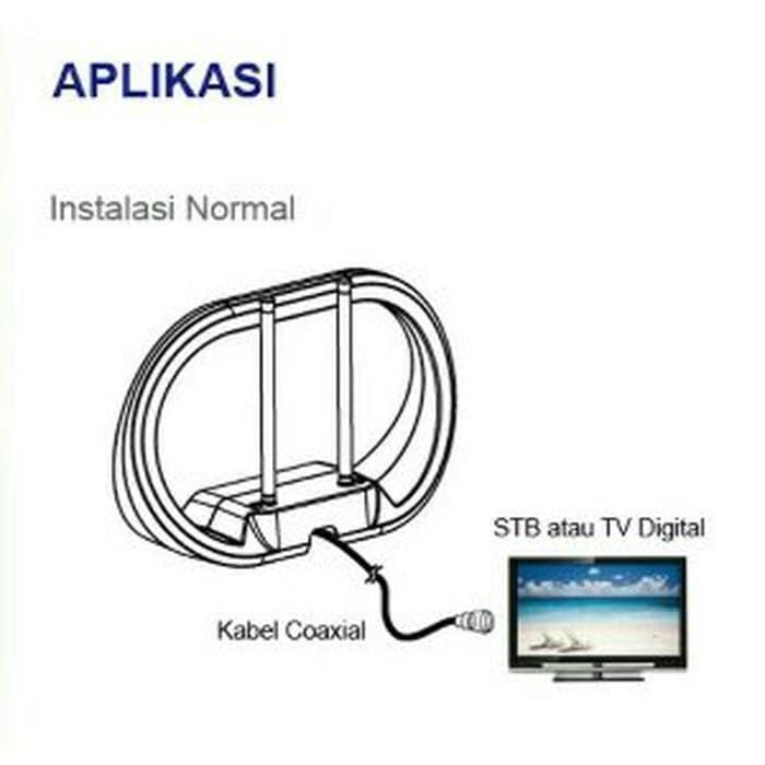 Jual PX Digital TV Indoor Antenna DA-1301NP - antena tv analog digi Murah -  Jakarta Pusat - BENGCOLEN SHOES | Tokopedia