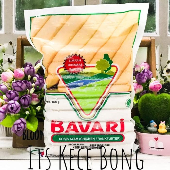 Bavari Chicken Frankfurter 1Kg / Sosis Ayam