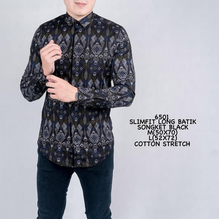 Katalog Baju Batik Songket Travelbon.com