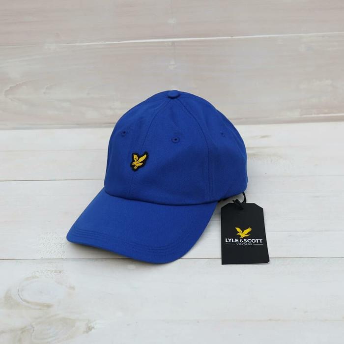 a8e95c702500 Jual Lyle Scott Baseball Cap Blue Original - Jakarta Pusat ...