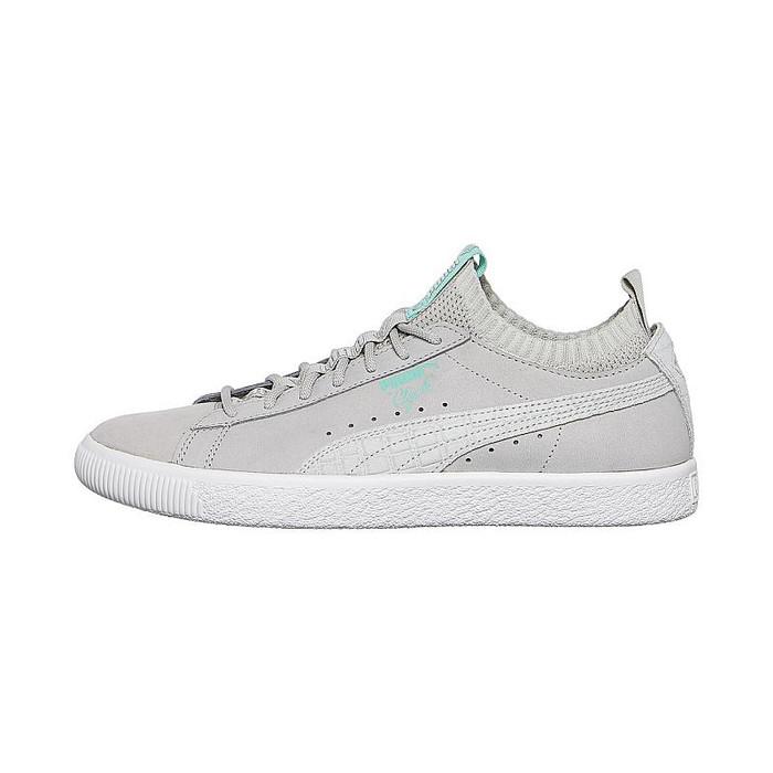 Puma Sepatu sneaker Puma Clyde Sock Lo Diamond - 36565302 - Titanium c256d0e450