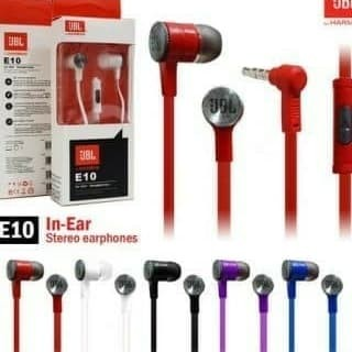Earphone JBL E10