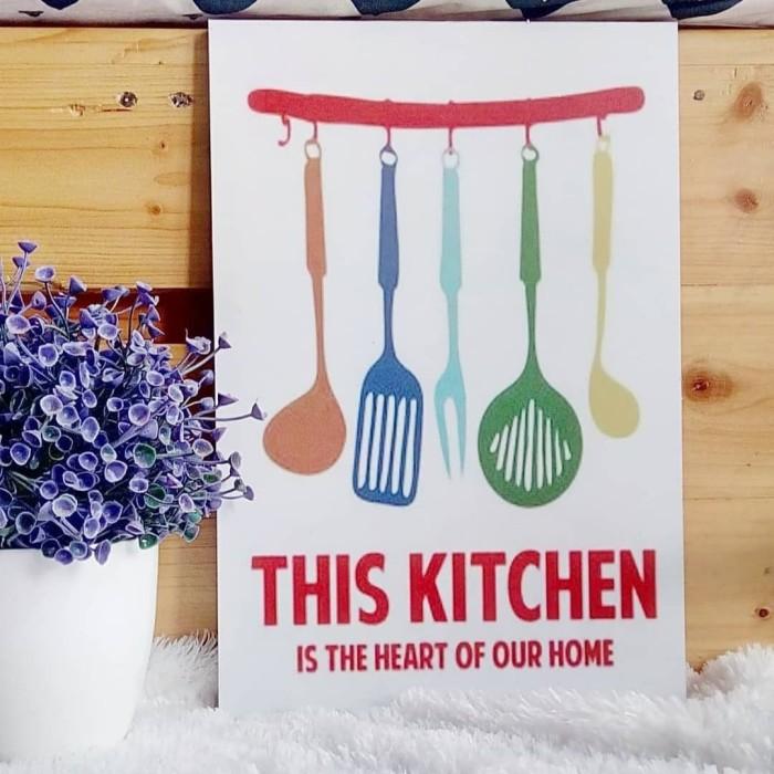 Lukisan Stiker Vinyl Doff This Kitchen