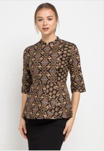 harga Arjuna weda blouse kujang kijang - cokelat - cokelat s Tokopedia.com
