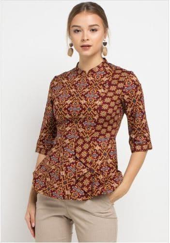 harga Arjuna weda blouse kujang kijang - merah - merah m Tokopedia.com