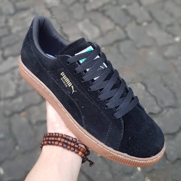 huge selection of 734a7 96fdd Jual Sepatu Puma Suede Classic Black Gum import skate - Jakarta Selatan -  Dryshoes | Tokopedia