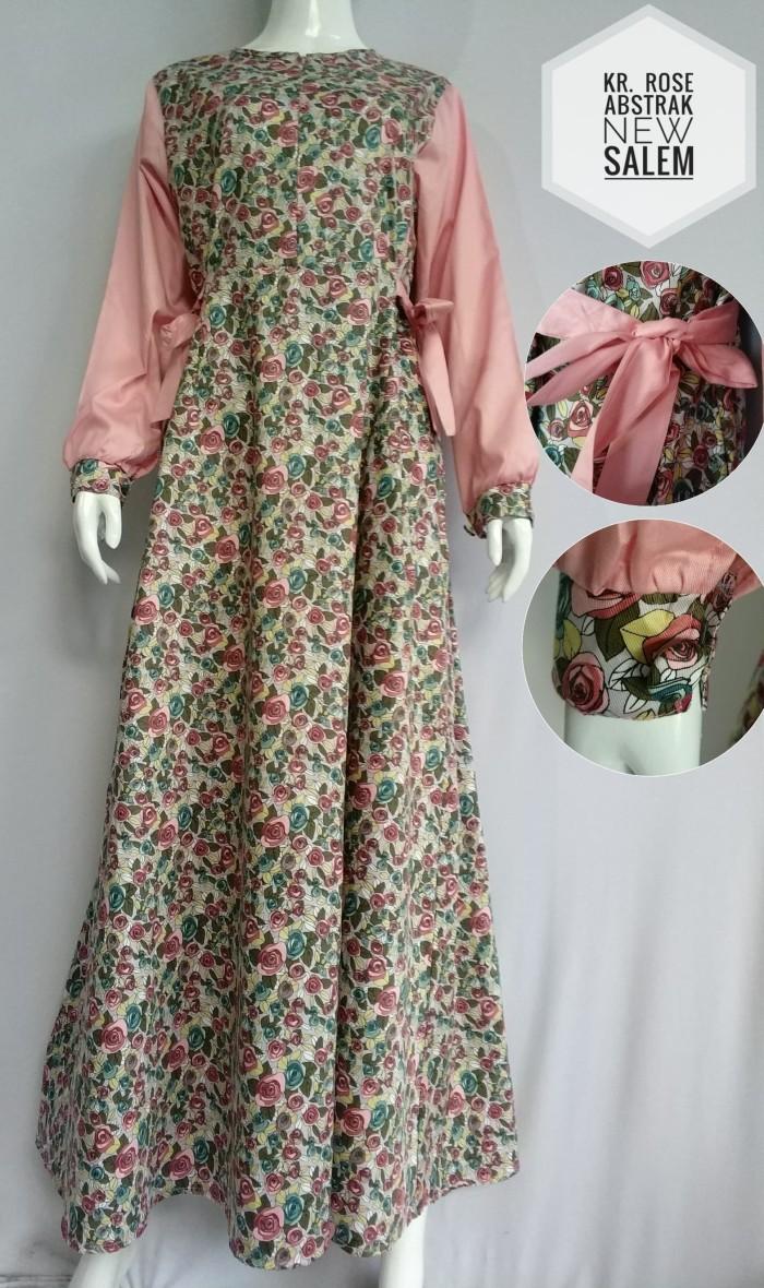 Jual Gamis Katun Jepang Motif Bunga Cantik - Kab. Bandung Barat - Gamis  Kiky Fashion  Tokopedia