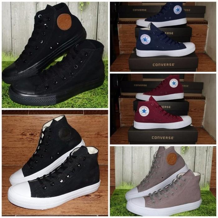 Jual Sepatu Boot Bot SEKOLAH CONVERSE ALL STAR TINGGI HIGH CHUCK ... a7b8124bd7