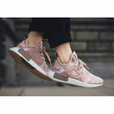 0d8755cd3 Jual Termurah Sepatu Sneakers Adidas Nmd Xr1 Duck Camo Baby Pink ...