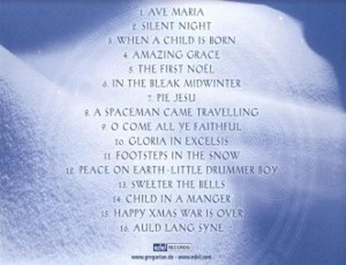 Gregorian Christmas Chants.Jual Cd Audio Gregorian Christmas Chants Kab Tangerang Maulia Store Jt Tokopedia