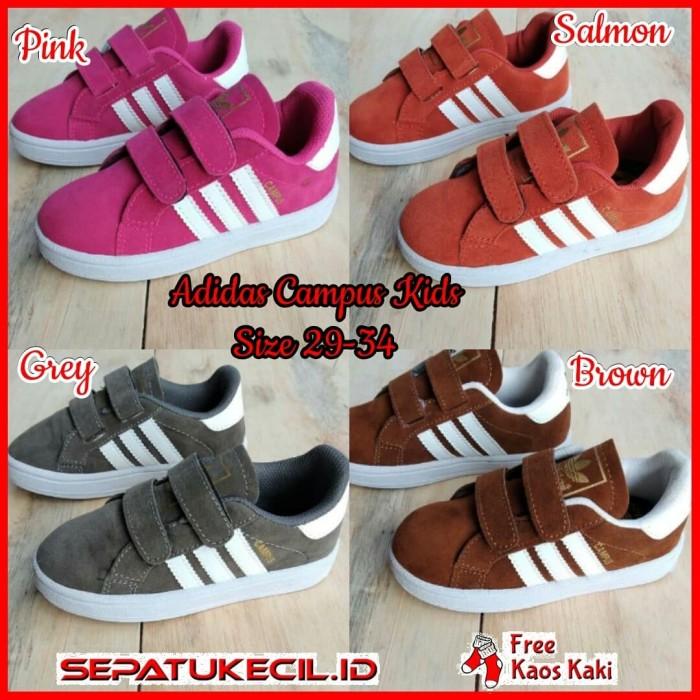 Harga Jual Sepatu Anak Fashion Adidas Campus Kids Size 26 35 Grade ... 422ff4314e