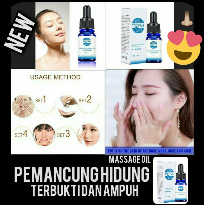 Nose up / filler pemancung hidung oil no cream /serum pemancung hidung