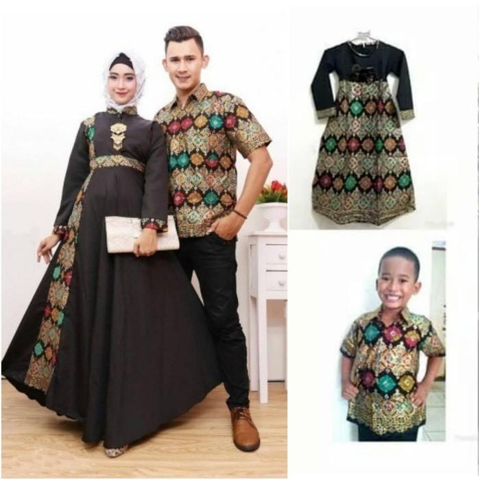 Jual JUMBO Couple batik sarimbit gamis xxl xxxl 4L baju pesta ... a2d3b18f03