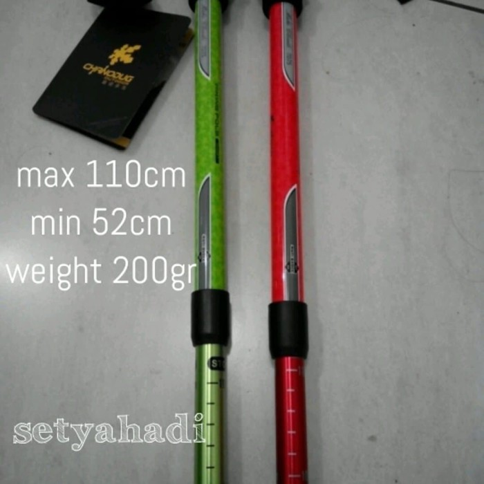 Trekking Pole UL tongkat gunung Chanodug fx-9009