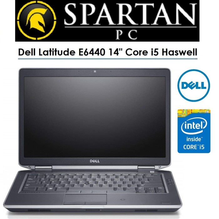 Jual Laptop Dell Latitude E6440 Core I5 Haswell Ram 4gb Hdd 500gb Dvd Kab Tangerang Spartan Pc Tokopedia