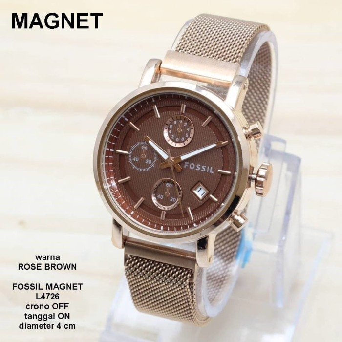 harga Jam tangan wanita fossil 2403 rantai pasir Tokopedia.com