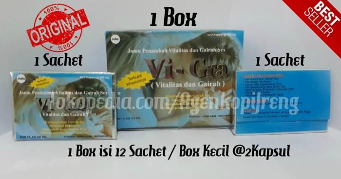 Foto Produk Vi - Gra Vitalitas dan Gariah Pria Dewasa Original HALAL Legal BPOM dari Agen Resmi Kopi Jreng