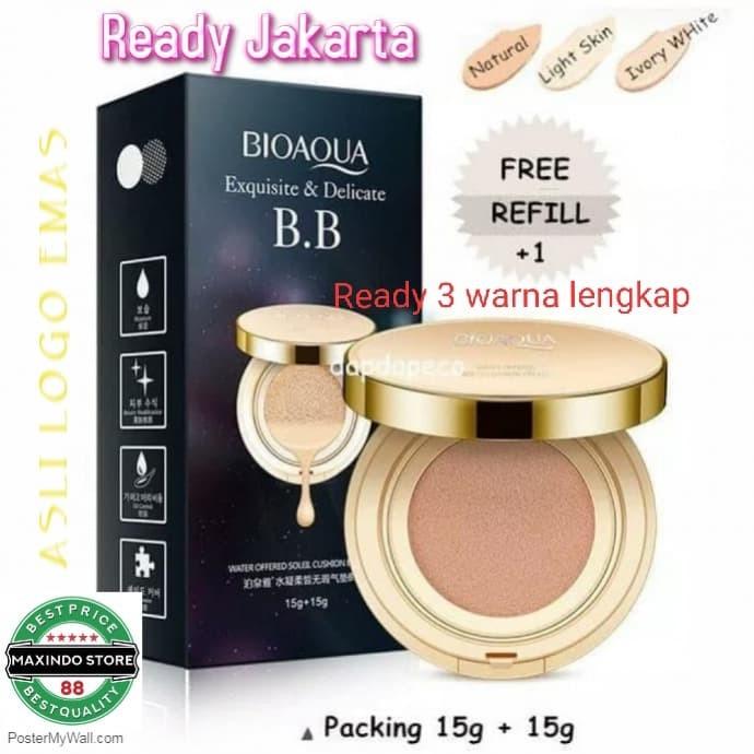 Jual Bioaqua Gold Cushion Refill Bb Cream Air Cushion Ready Jakarta Utara Maxindostore88 Tokopedia