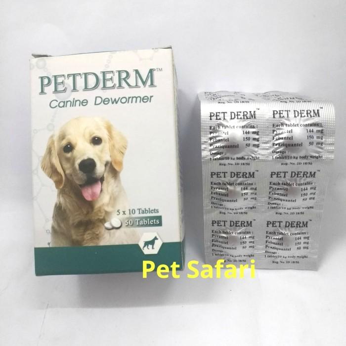 Jual Obat Cacing Untuk Anjing Pet Drem For Dog Jakarta Barat Pet Safari Tokopedia