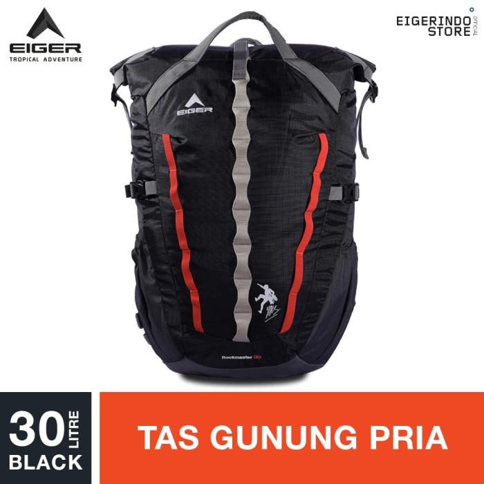 harga Eiger rockmaster climbing bag 30l - black Tokopedia.com