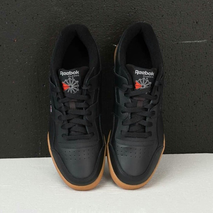 0ecdd9d9108403 Jual Reebok classic workout plus Black Gum CN2127 - DKI Jakarta ...