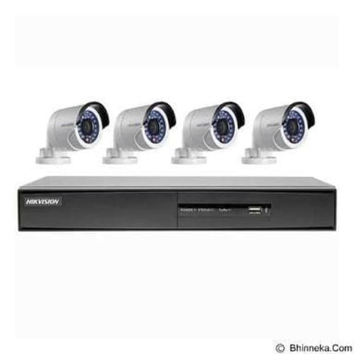 ALLFA CCTV PAKET CCTV OUTDOOR 4 CH HIK VISION 2.0mp Full HD 1080p
