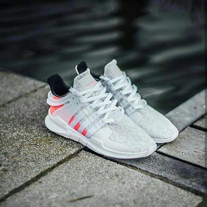 adidas eqt support adv white turbo