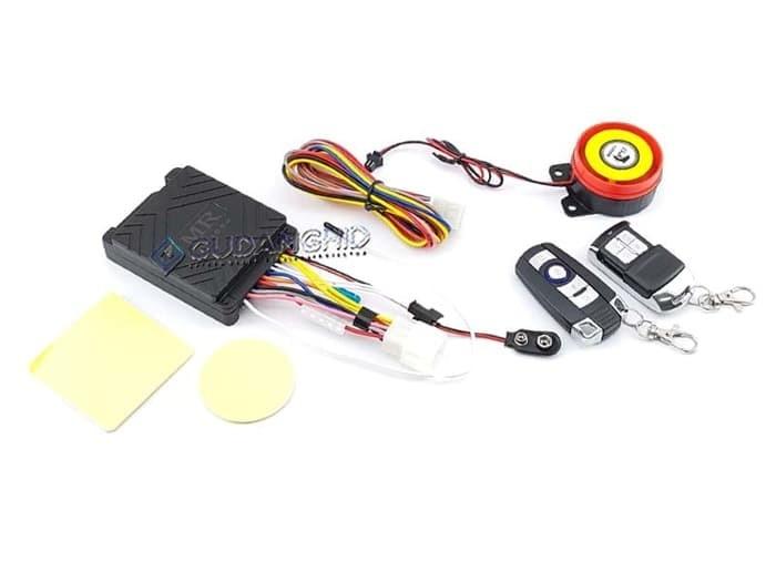 Jual Alat Keamanan Alarm Motor Remote Start Khusus Injeksi Jeda