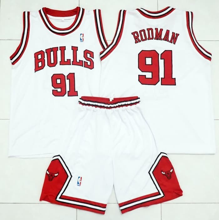 sports shoes 66750 82367 Jual Jersey Basket NBA Chicago Bulls (Old School) - Kota Surabaya - dicky  09 | Tokopedia