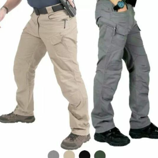 Celana Tactical panjang blackhawk premium terlaris - Abu-abu, 37