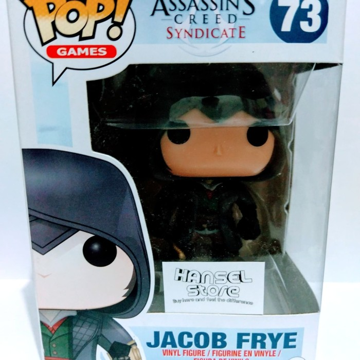 Jual Funko Pop Assassin S Creed Syndicate Jacob Frye Baru