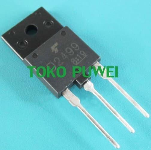Foto Produk D2499 D 2499 NPN transistor 2S D2499 2SD2499 Bipolar Transistor BL73 dari toko puwei