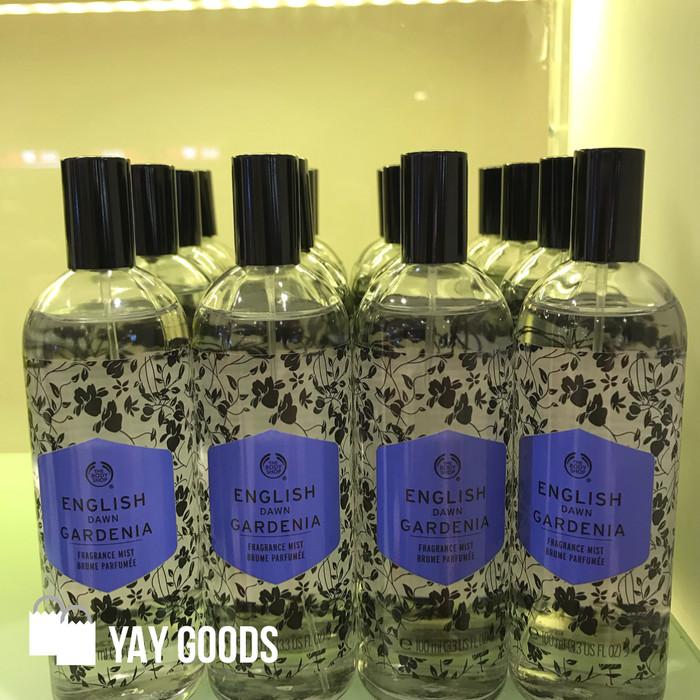 ORIGINAL REJECT The Body Shop English Dawn Gardenia Mist 100ml