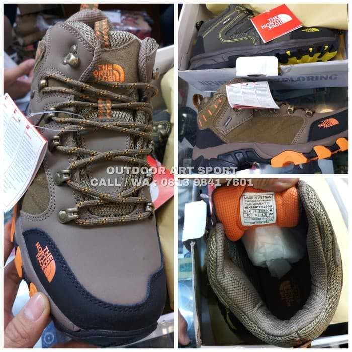 Jual Sepatu Hiking The North Face 6inch Import Sepatu Gunung Tnf