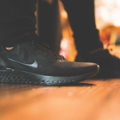 df54612b3cd02 Jual Nike Odyssey React triple black 1000% ORIGINAL - World Sneakers ...